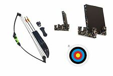 New Kids Childs Archery Beginners Compound Bow and Arrow Full Set + Target Set