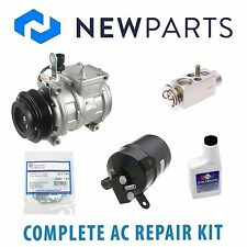 For BMW 525i 525iT 535i 540i NEW AC A/C Repair Kit w/ NEW Compressor & Clutch