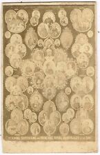 Reigning Sovereigns & Principal Royal Personages of the Day 1860's CDV London