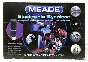 MEADE ELECTRONIC EYEPIECE telescope to video tv NEW