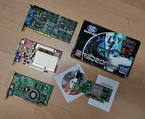 Grafikkarten Sapphire Radeon ATI Creative Labs 3DFX Voodoo NVIDIA GeForce PCI