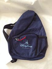 "Disney Parks navy blue back pack kids book bag new kanp scak 10"" x 13"" one strap"
