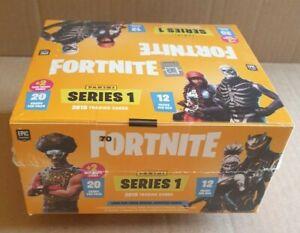 2019 Panini Fortnite Series One 1 Yellow Jumbo Fat Pack Box - Factory Sealed