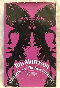 Jim Morrison - The Lords and the New Creatures Poems - 1st/1st 1970 in Jacket