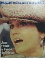 CORRIERE DELLA SERA ILLUSTRATO N.6 1979 JANE FONDA
