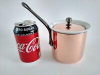 Havard Villedieu Copper BAIN MARIE Saucepan Pillivuyt Porelcelain Insert Vintage