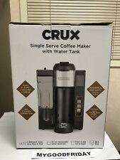 Crux K-Cup Coffee Maker Single Serve with Water Tank Model 14792 New Box Pack