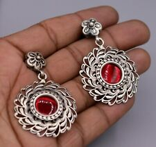 925 sterling silver stud earrings stylish belly dance tribal jewelry india s443