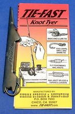TIE-FAST KNOT TYER  FLY FISHING TOOL SIERRA STREAM & MOUNTAIN Black