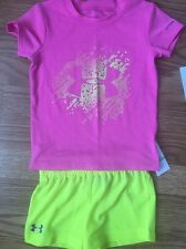 Under Armour Outfit 2pc Set Baby Toddler Size 18 Months Heat Gear