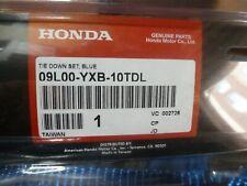 2002-2009 Honda Aquatrax Jet Ski Blue Tie Down Strap Kit 09L00-YXB-10TDL OEM New