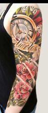 Temporary Tattoo Full Arm Tattoo XXL 45x15cm Fake Tattoo Einmal Tattoo QB-3028