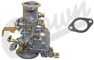 Crown Automotive J0923808 Carburetor for Jeep CJ3/CJ5/CJ6/FC150 w/F-Head Engine