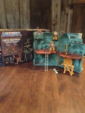 1980s He-Man Masters Of The Universe Castle Grayskull / Mattel Original Box