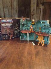 1980s He-Man Masters Of The Universe Castle Grayskull / Mattel Original Box