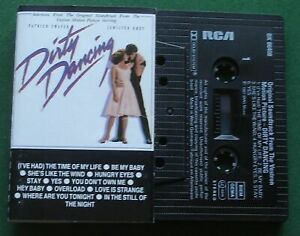 Dirty Dancing Selections Patrick Swayzee Eric Carmen + Cassette Tape - TESTED