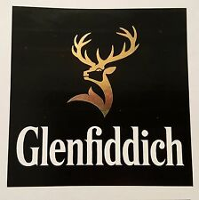 Glenfiddich scotch whisky sticker / decal