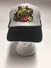 Rockstar Energy Drink Trucker Hat Cap Adjustable Snapback Nissun