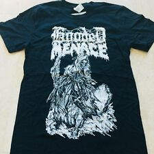 HOODED MENACE Reanimated By Death T-SHIRT SIZE: MEDIUM
