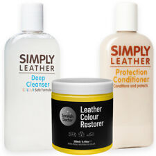YELLOW Leather Cleaner, Conditioner & Restorer for Sofa, Bags, Shoes, Jackets