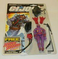 1988 GI Joe Cobra Underwater Elite Trooper Hydro Vipers Complete File Card Back