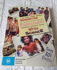 THE BREAKFAST CLUB / SIXTEEN CANDLES / WEIRD SCIENCE – DVD, 3-DISC BOX, R-2+4+5