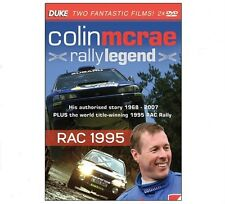 COLIN McRAE - RALLY LEGEND & RAC RALLY 1995 - 2 Disc DVD by Duke - SAVE 50% New