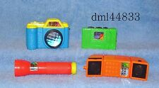 1992 McDonalds Mystery of Lost Arches Complete Set -  Lot of 4, Boys & Girls, 3+