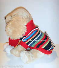 SWEATER - SCARF - PET - DOG - PUPPY - BOYS - RED with STRIPES - SZ XS – NWT $24