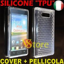 Cover for LG Optimus L7 P700 Clear Gel Silicone