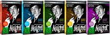 Gesamtedition - Kommissar Maigret Vol. 1-5 / kompl. Serie auf 15 DVDs Pidax Neu