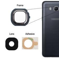 for Samsung Galaxy J7 2016 Back Camera Lens Glass Frame Adhesive Black J710f