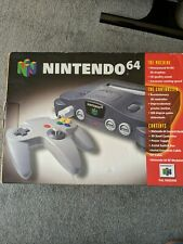Nintendo 64 console boxed 4 controllers all working