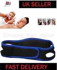 Stop Snoring Chin Strap Jaw Belt Anti Snore Solution Device Sleep Apnea UK New..