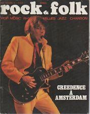 """ROCK & FOLK n°57 octobre 1971"" John FOGERTY/ CREEDENCE Photo Jean-Pierre LELOIR"