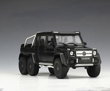 Welly 1:24 Mercedes Benz G63 AMG 6X6 Diecast Metal Model Car new in box black