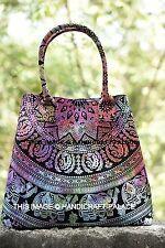 Indian Handbags Women Shoulder Bag Mandala Tote Bag Hippie Tie Dye Shopping Bag