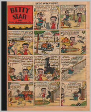 1935/36 (ref B/I 1633) RC BD BETTY STAR ( BETTY BOOP ) 1page 26x36 cm