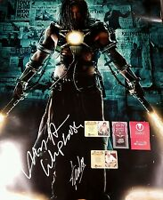 Stan Lee & Mickey Rourke 27x40 Poster PROOF CA COA Signed Spiderman Cast PSA JSA