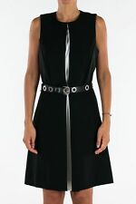 NWT Michael Kors Black Dress With Belt Size UK 8  RRP £215