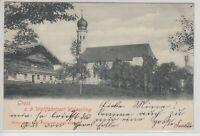 27398) Gruss aus dem Wallfahrtsort Wilparting 1900 gelaufen