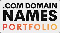 .com Domain Names Portfolio | 15 Total Domains