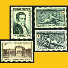 LOT 4 TIMBRES FRANCE 1952 - N° 936 A 939 - NEUFS **