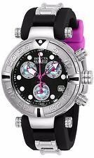 Invicta Reserve Womans Subaqua Noma I Puppy Edition Swiss Black & Pink Watch