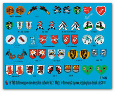 1/48 Decals Squadron Coat of Arms of the German Luftwaffe No 2 750