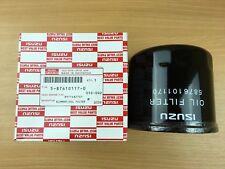 Genuine ISUZU 5876101170 (8971482701) Filtro Olio Camion riscossione di N. CR, RMN, prudenza, NPR NQR