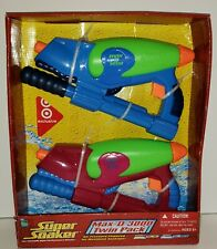 New Hasbro Super Soaker Max-D 3000 Twin Pack Target Exclusive 13oz. 35ft.2005