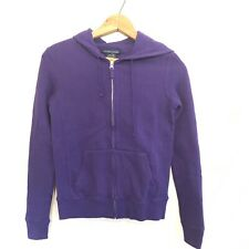 NWT Polo Ralph Lauren Purple Zipup Hoodie Sweatshirt Size XS