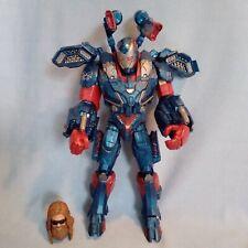 "Avengers Marvel Legends BAF IRON PATRIOT ENDGAME 7"" Action Figure + THOR head"