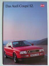 Prospekt Audi Coupe S2, 7.1991, 20 Seiten